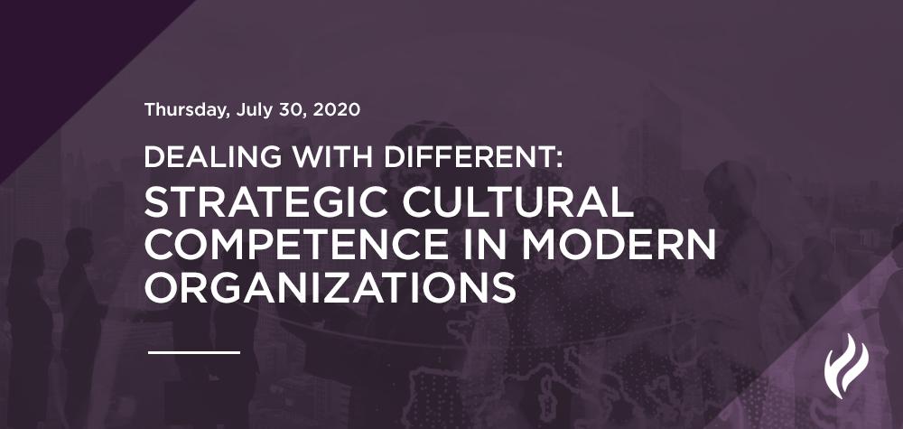 Strategic Cultural Competence in Modern Organizations
